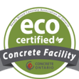 eco certified concrete facility