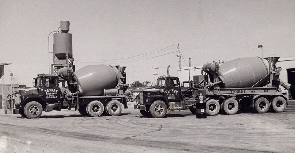 Teskey Concrete trucks
